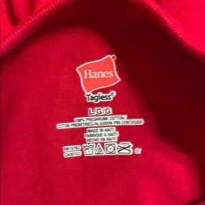 2 Hanes t shirts, NEW, read description